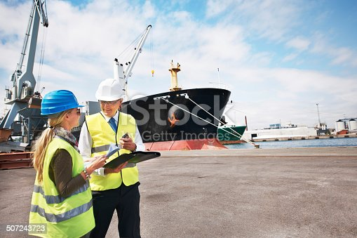 istock Sound management ensures fair customs trade 507243723