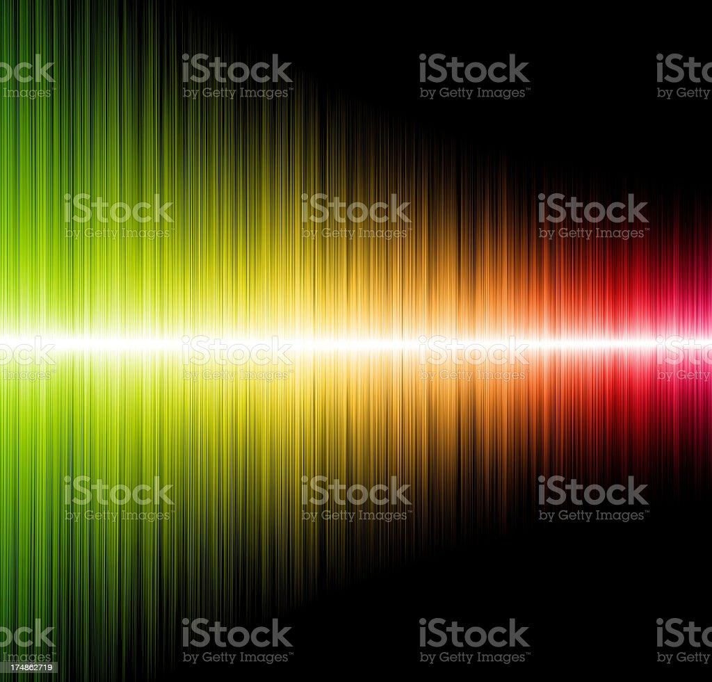 Sound mixer audio curve equalizer stock photo