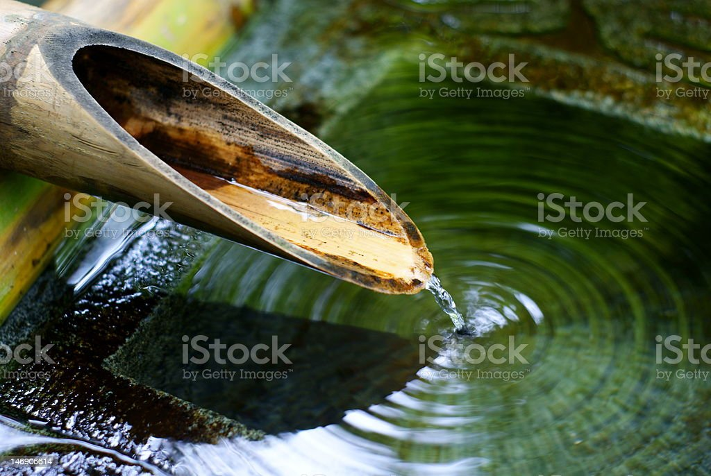 Sound of water royalty-free stock photo