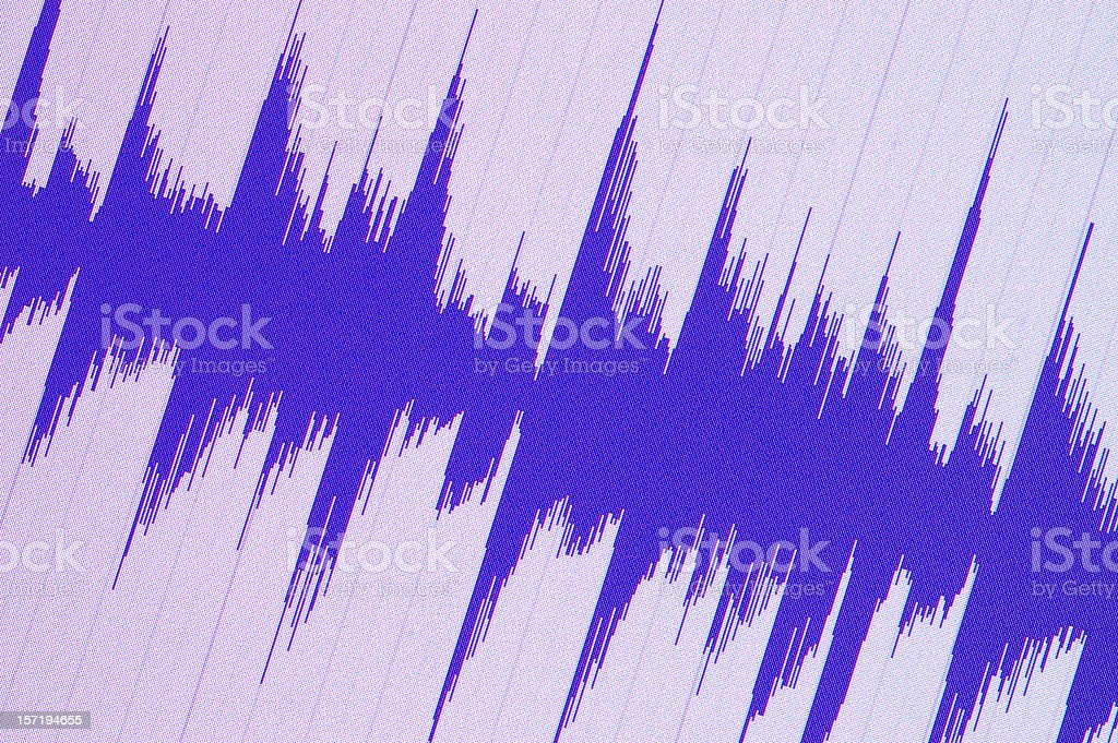 Sound on the Screen royalty-free stock photo