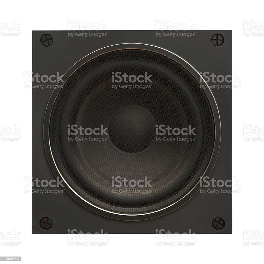 sound speaker royalty-free stock photo