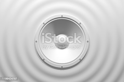 istock sound speaker system for music player 1199424757