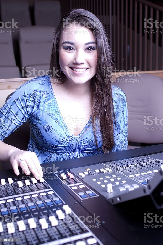 Sound Student royalty-free stock photo