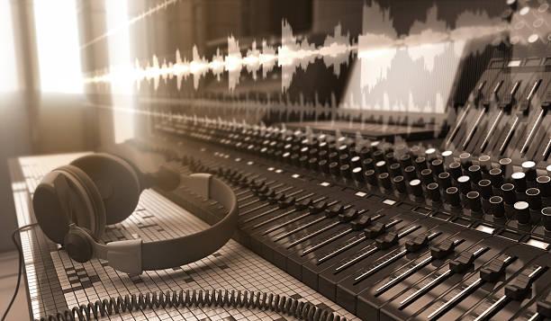 Sound Studio stock photo