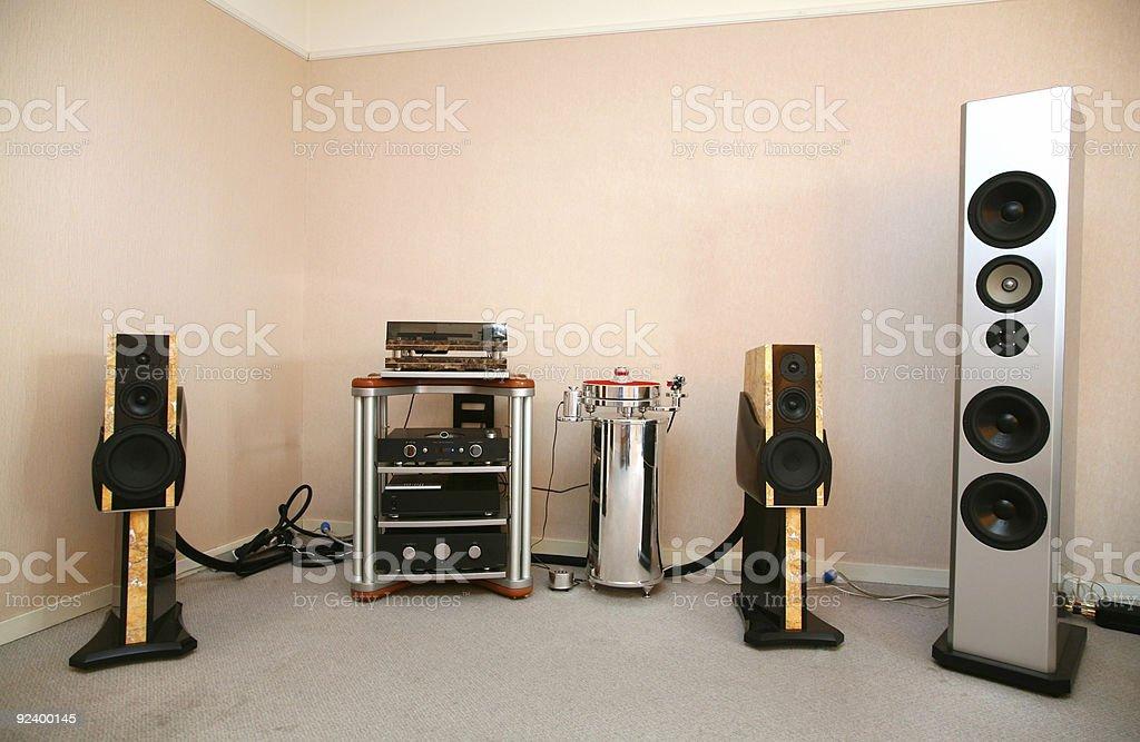 sound system 2 royalty-free stock photo