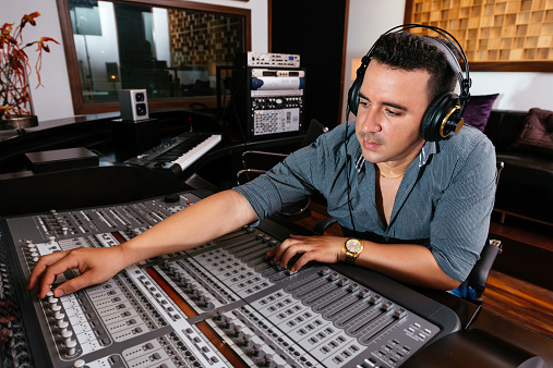 Sound Technician Stock Photo - Download Image Now