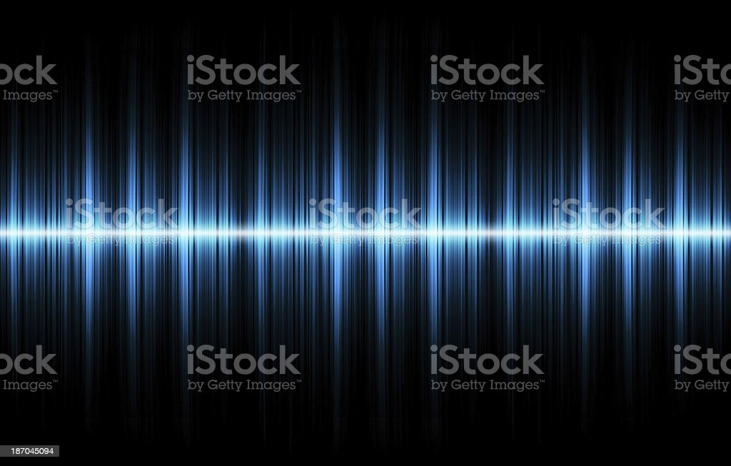 Sound wave background stock photo