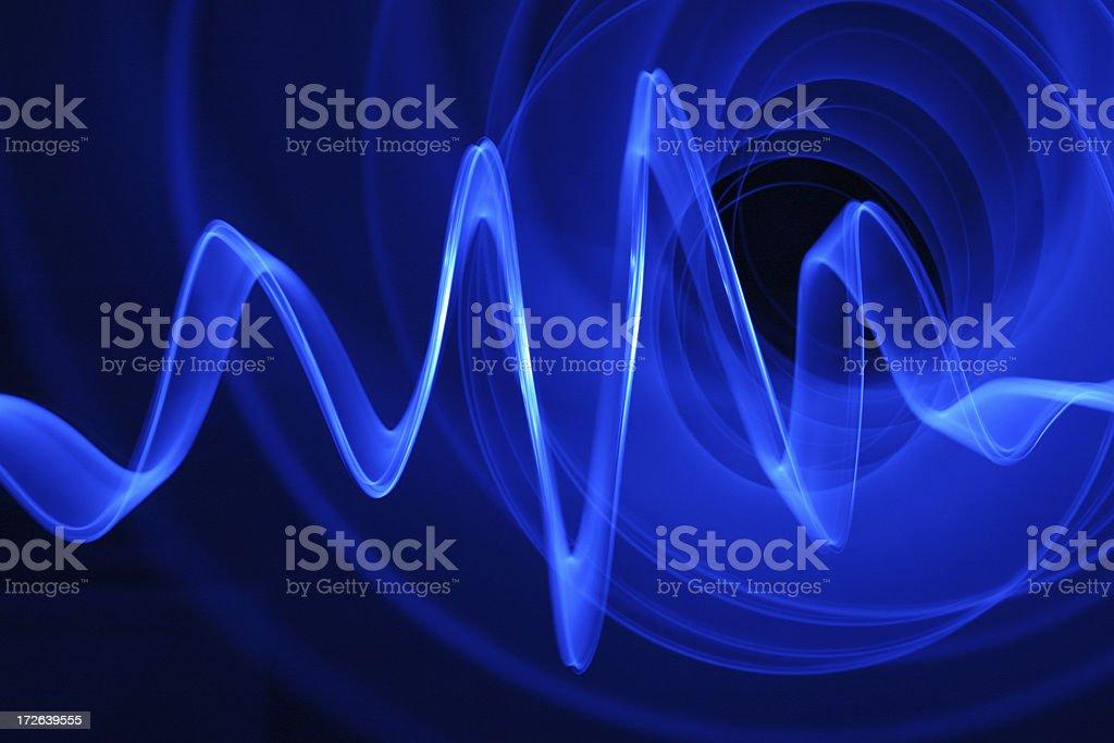 Sound Waves royalty-free stock photo