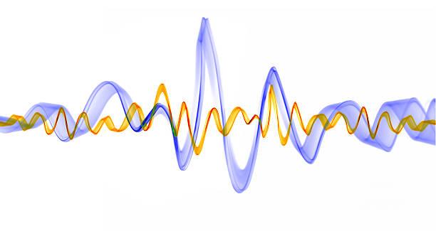 sound wellen - frequenzen stock-fotos und bilder