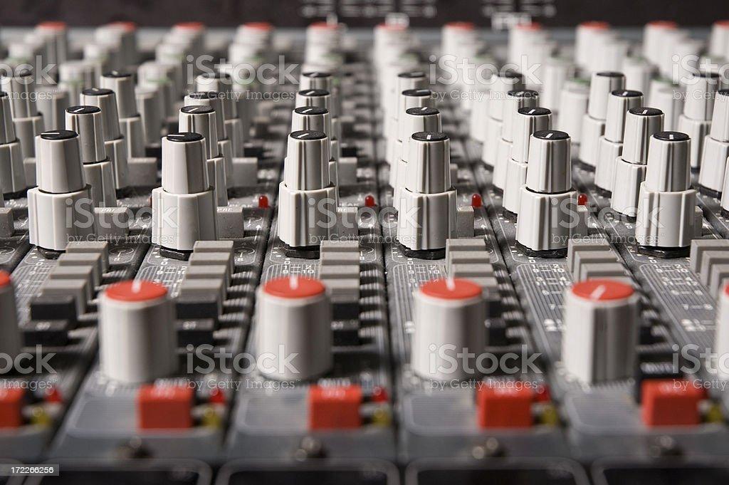 Soundboard royalty-free stock photo