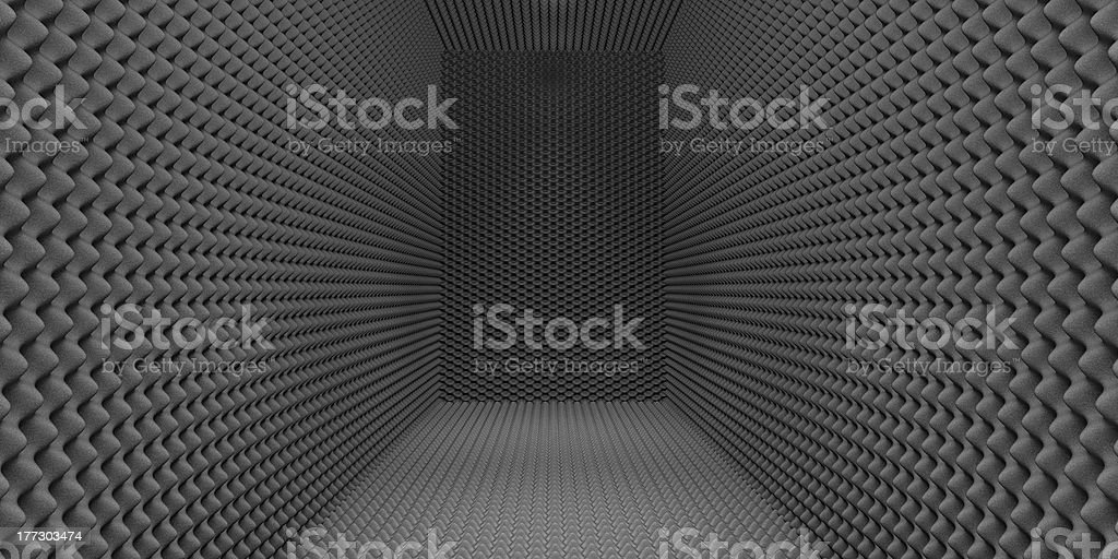 Sound-Proofed Room stock photo