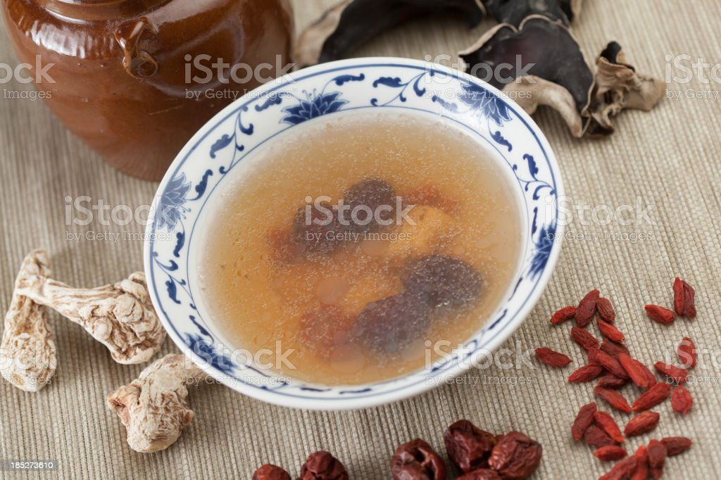 soup for traditional chinese medicine royalty-free stock photo