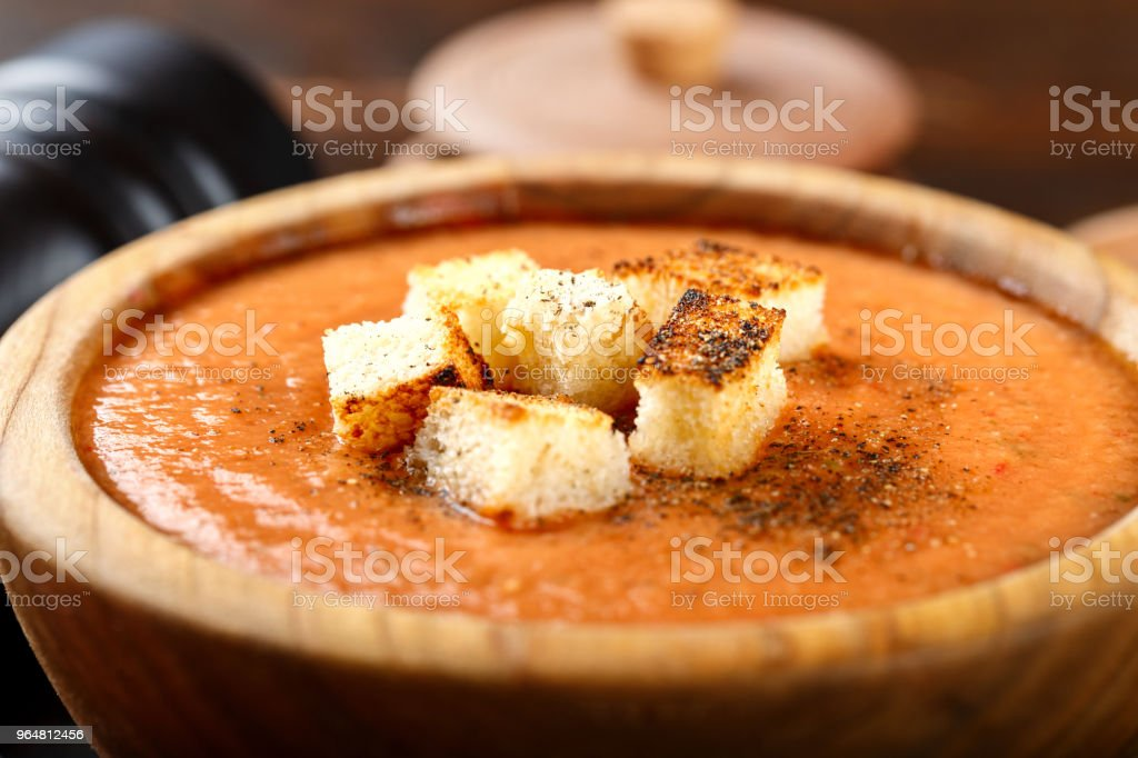 soup gazpacho royalty-free stock photo