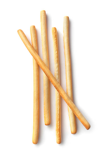 Soup Ingredients: Breadsticks stock photo