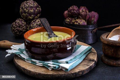Soup Of Artichokes Stock Photo & More Pictures of Artichoke