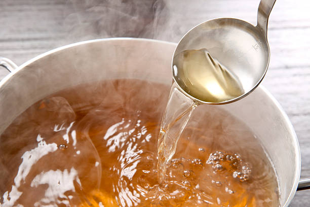 Soup of Japan stock photo