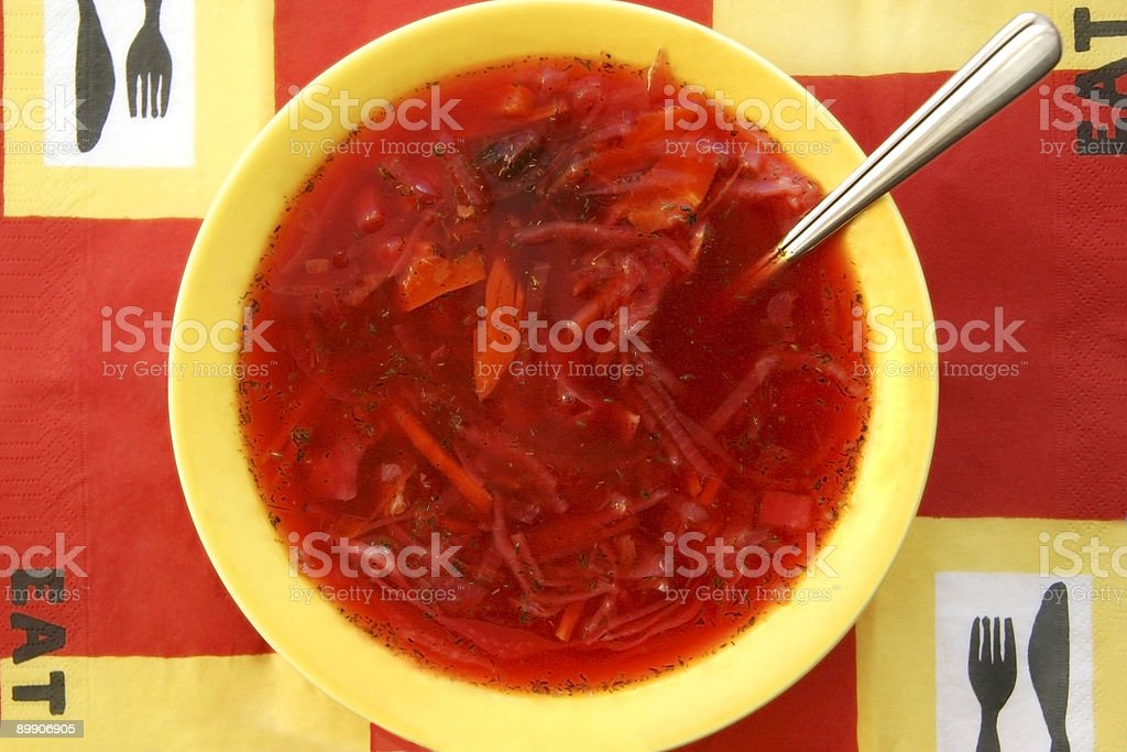 Soup. royalty-free stock photo