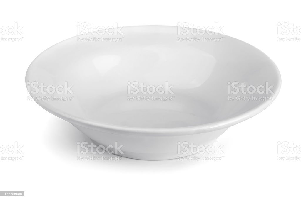 Soup plate stock photo