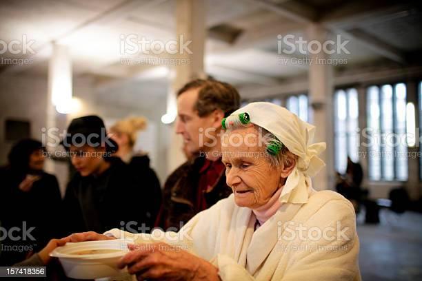 Suppe Zeit Stockfoto und mehr Bilder von Alter Erwachsener