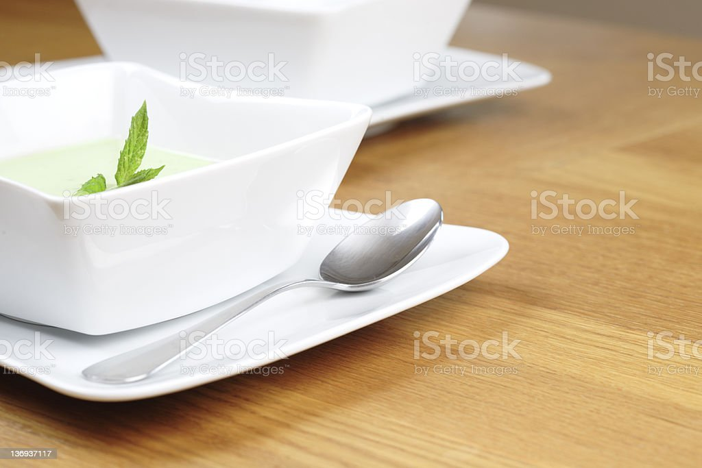 Soup to Start royalty-free stock photo