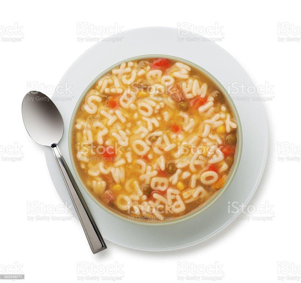 ABC-Suppe mit www Versteckte Innentasche – Foto