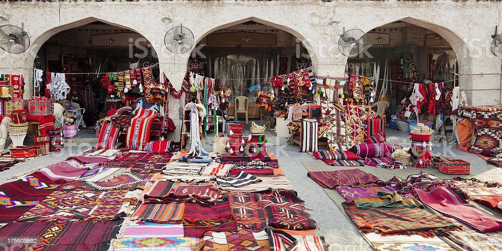 Souq Waqif shop stock photo