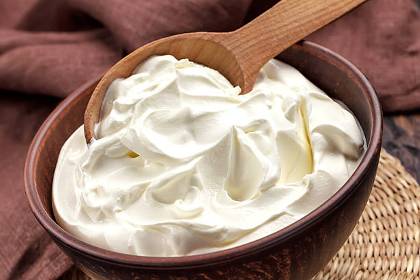 Sour cream Sour cream sour cream stock pictures, royalty-free photos & images