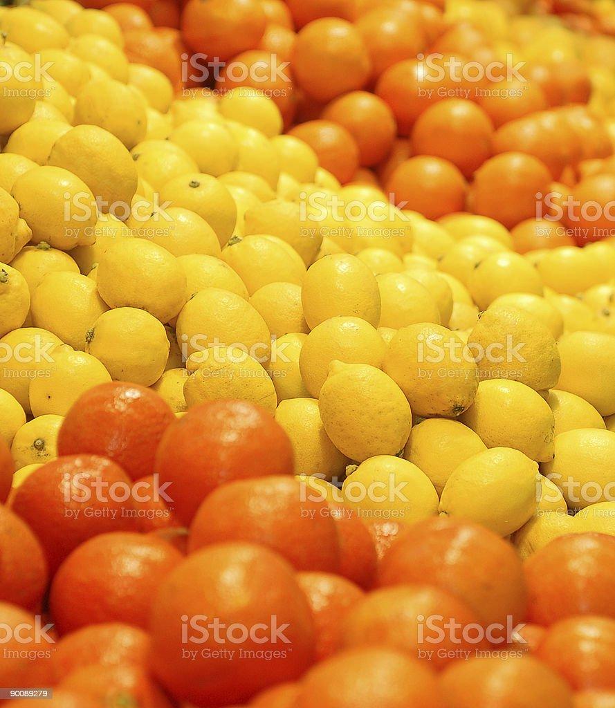 sour orange stock photo