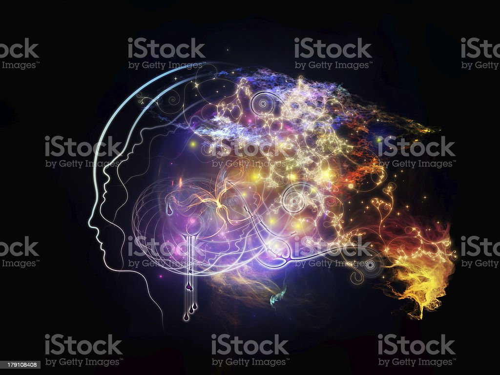 Source of Inner Thoughts royalty-free stock photo