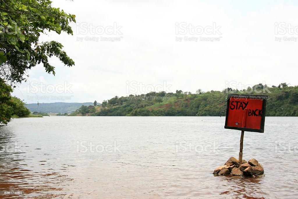 Source of the Nile - Jinja Town in Uganda - The Pearl stock photo