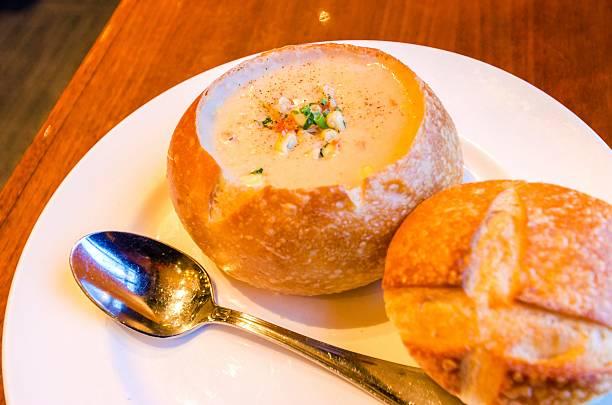 Sauerteig-Muschelsuppe – Foto