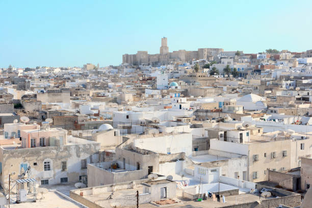Sousse city stock photo