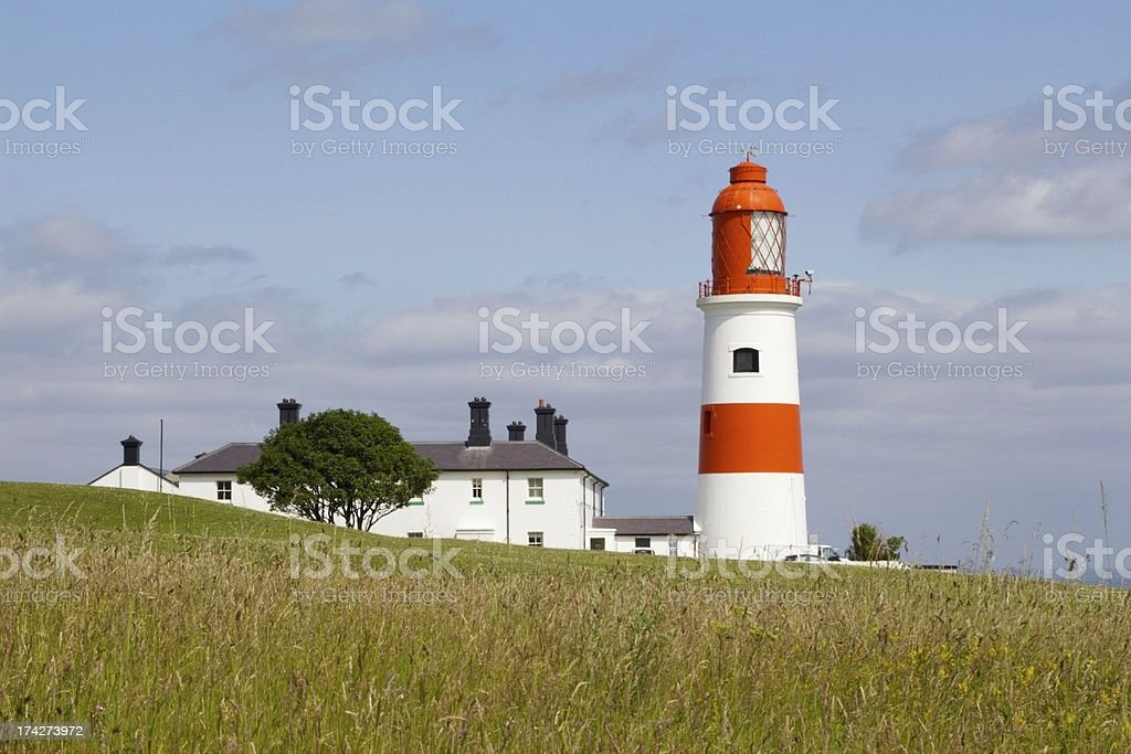 Souter Lighthouse, Marsden, Sunderland stock photo