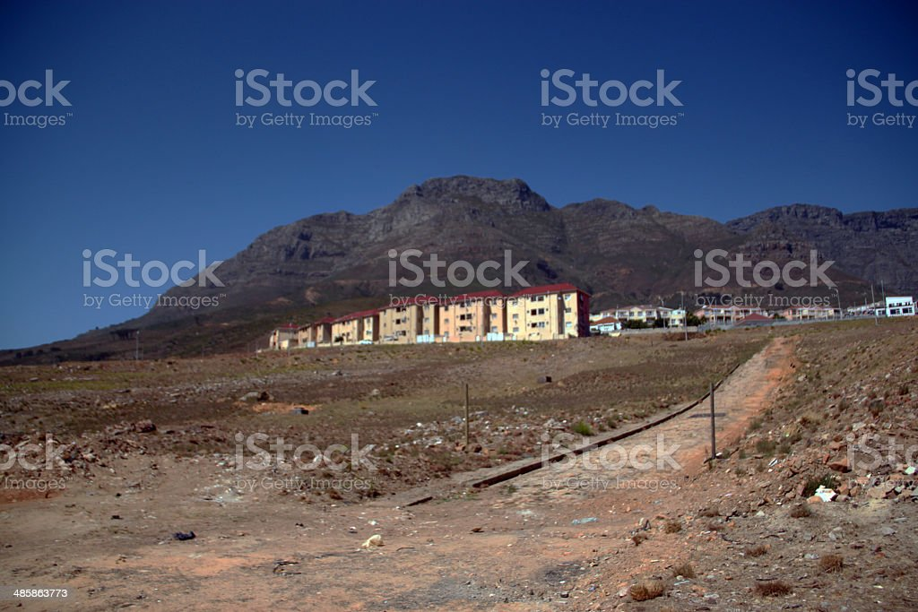South Africa: District Six Memorial Park stock photo