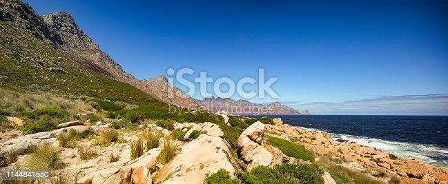 istock South Africa False bay Sir Lowry's Pass panoramic view 1144841550