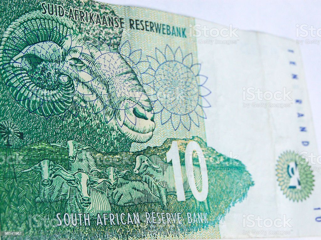 South Africa farming banknote royalty-free stock photo