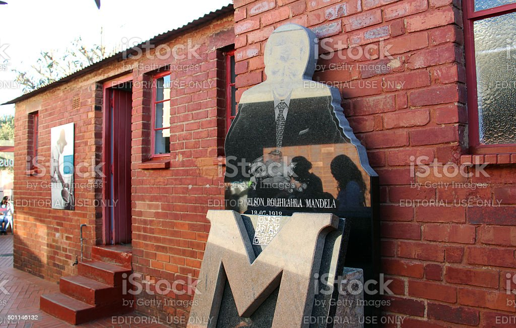 South Africa: Mandela House in Soweto stock photo