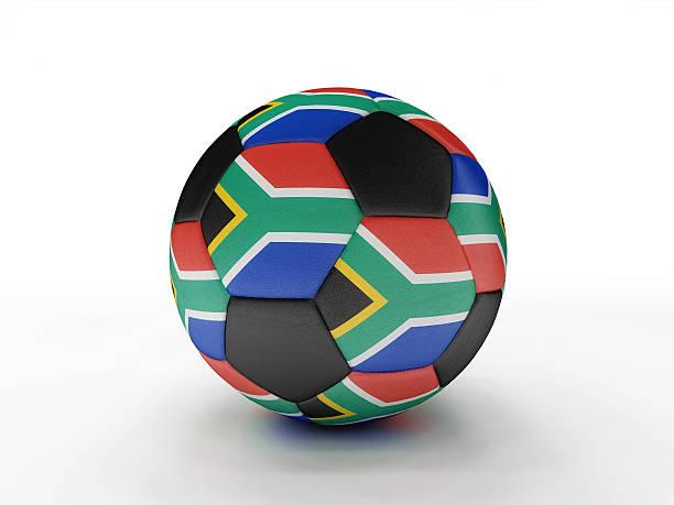 South Africa soccer football ball stock photo