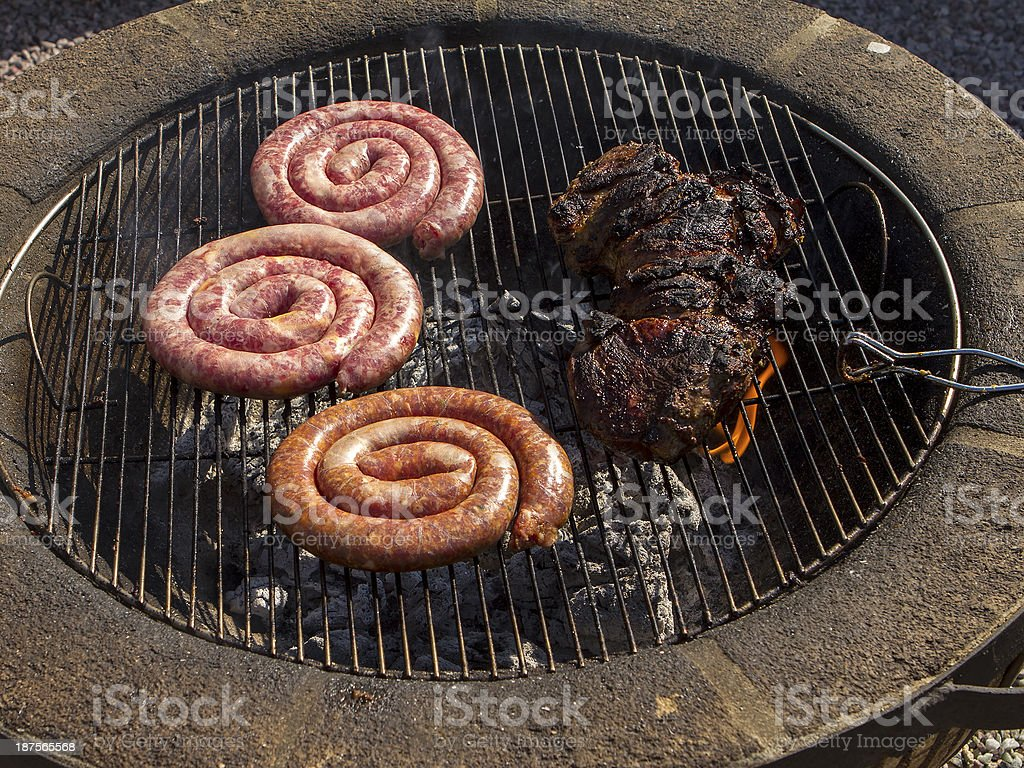 South African BBQ royalty-free stock photo