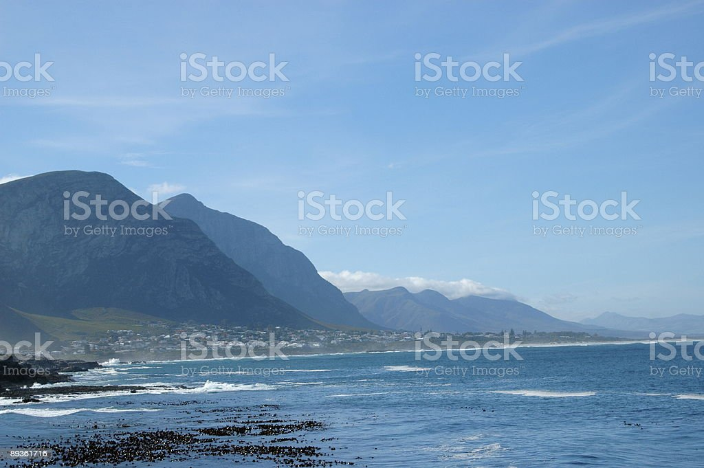 Costa Sud Africa foto stock royalty-free