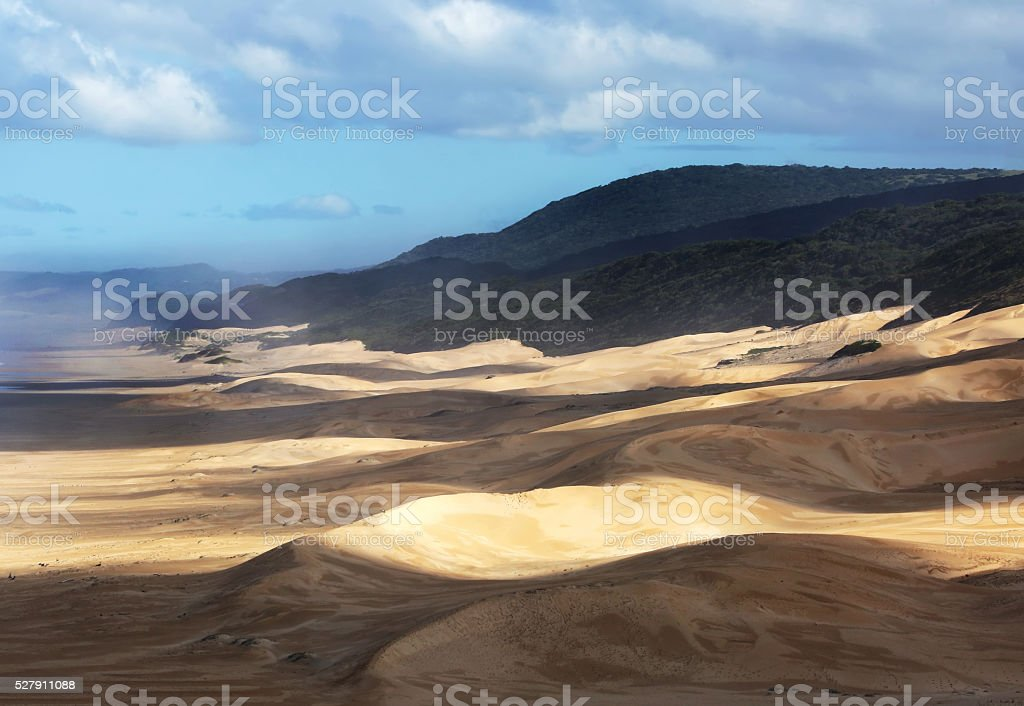 South African Dunes Eastern Cape stock photo
