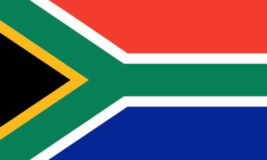 Südafrikanische Flagge Stockfoto und mehr Bilder von Afrika