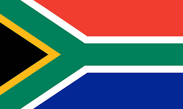 south african flag - table mountain national park stock pictures, royalty-free photos & images