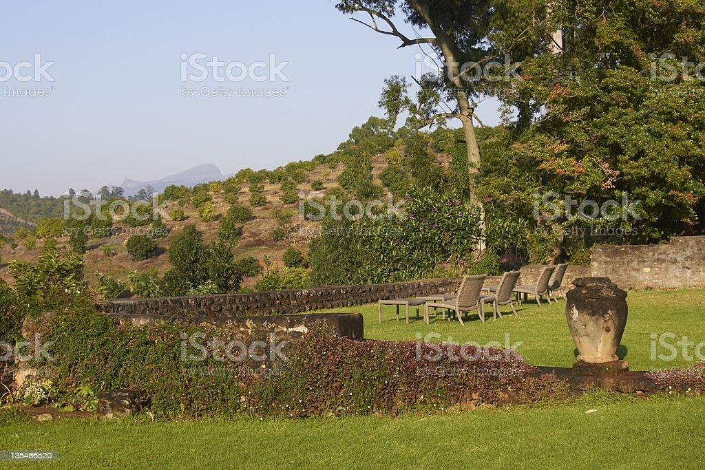 South African Garden royalty-free stock photo