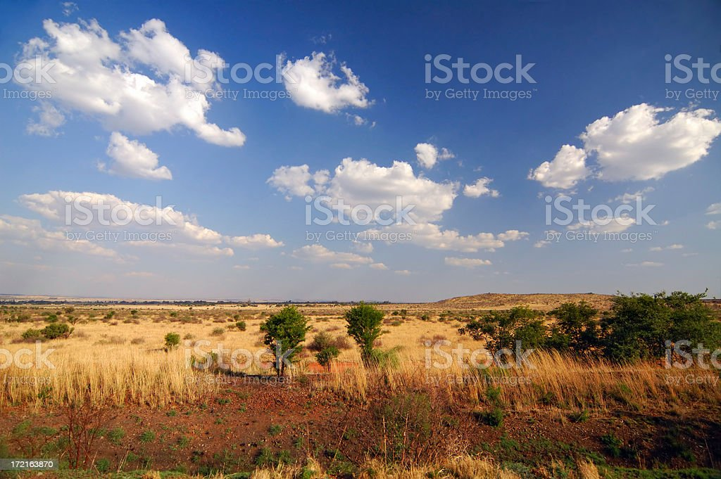 south african landscape royalty-free stock photo