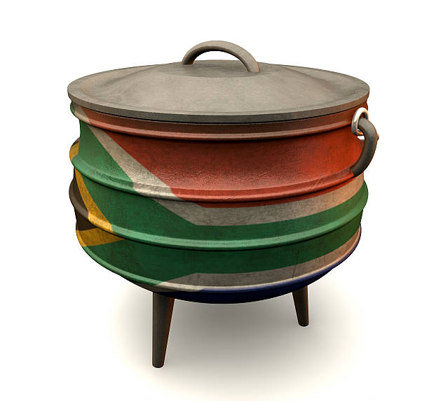 Royalty Free Potjie Stew Pot South Africa Cast Iron