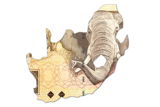 Banknote 20 südafrikanischer rand – Foto