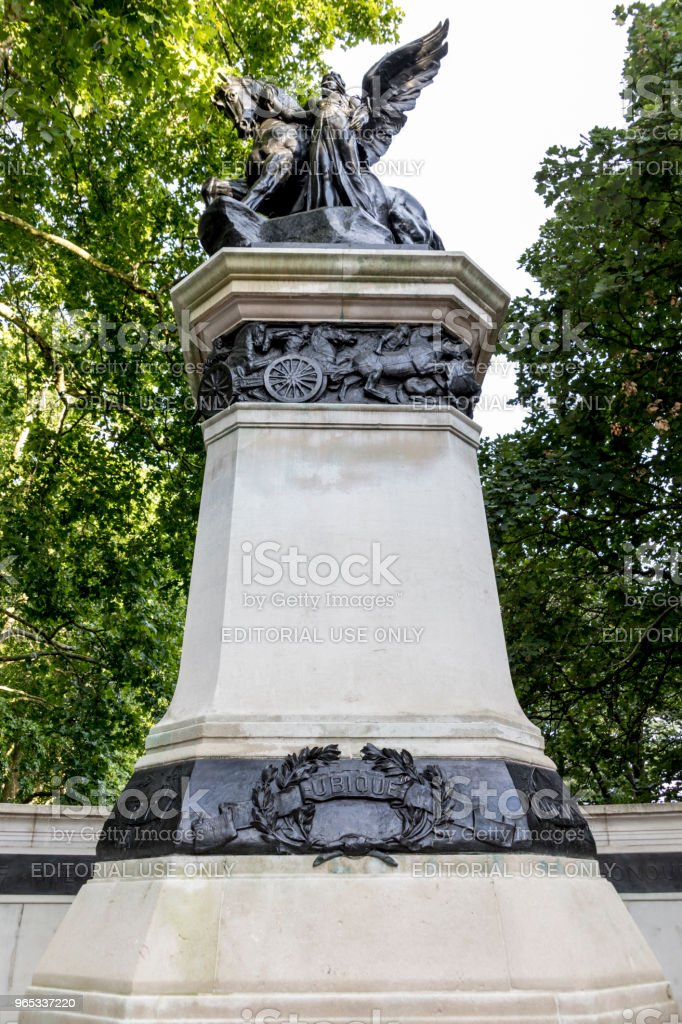 South African Royal Artillery Memorial royalty-free stock photo