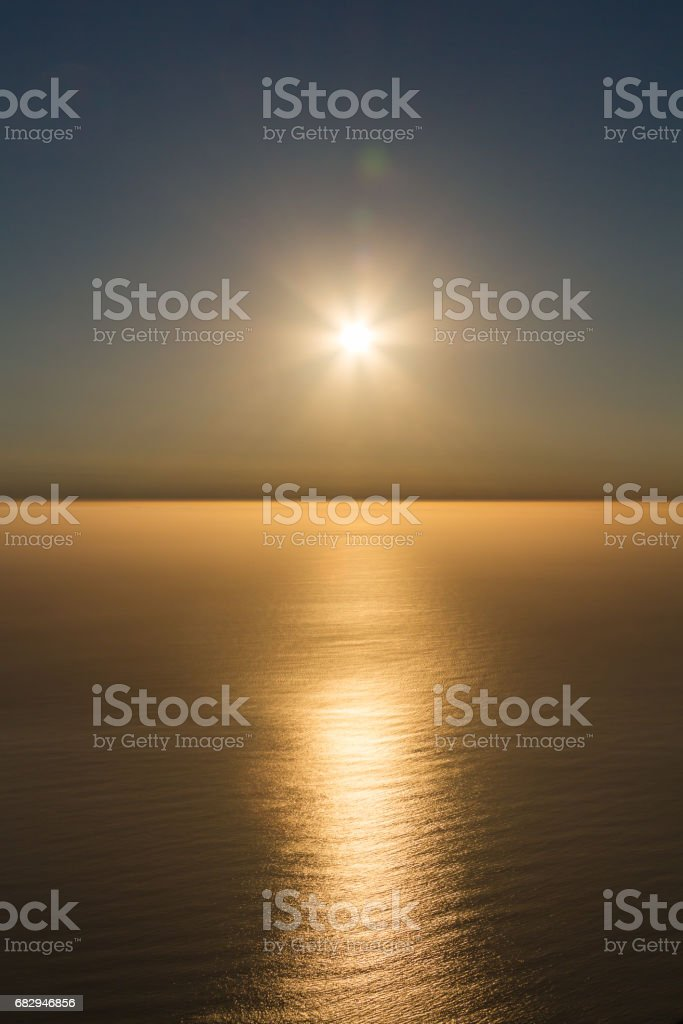 South African Sunset royalty-free stock photo