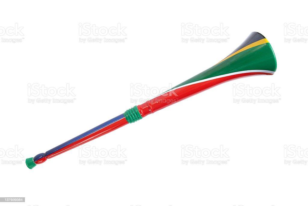 South African Vuvuzela stock photo